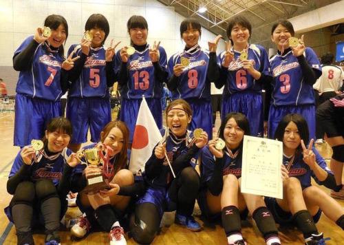 ドッジボール女子日本代表