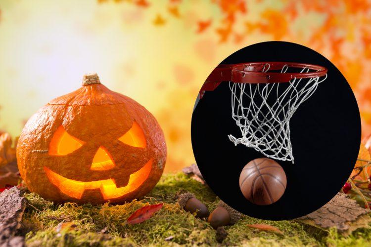 ハロウィン×バスケットボール