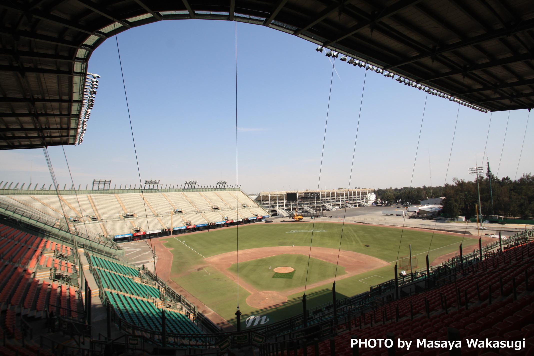 メキシコの野球場