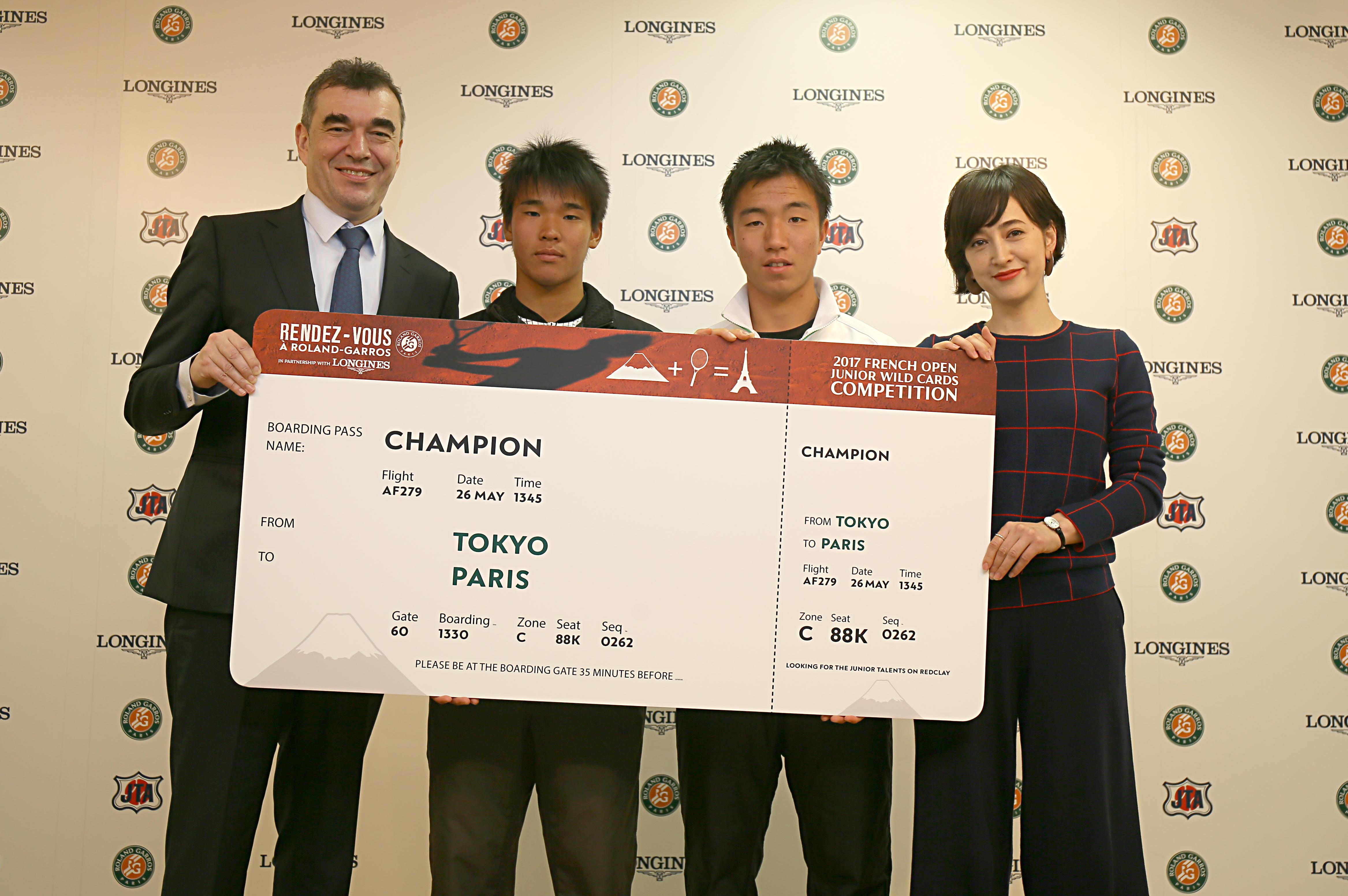 全仏オープン日本予選のチャンピオンボード