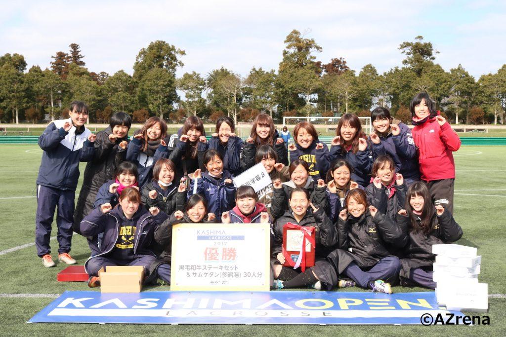 優勝した東京学芸大学Bチーム