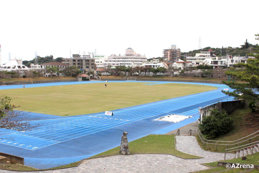 浦添市陸上競技場