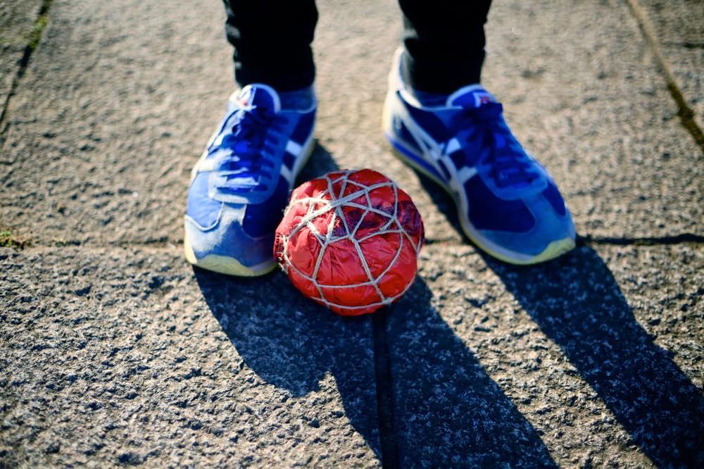 オリジナルサッカーボールを作ろう!