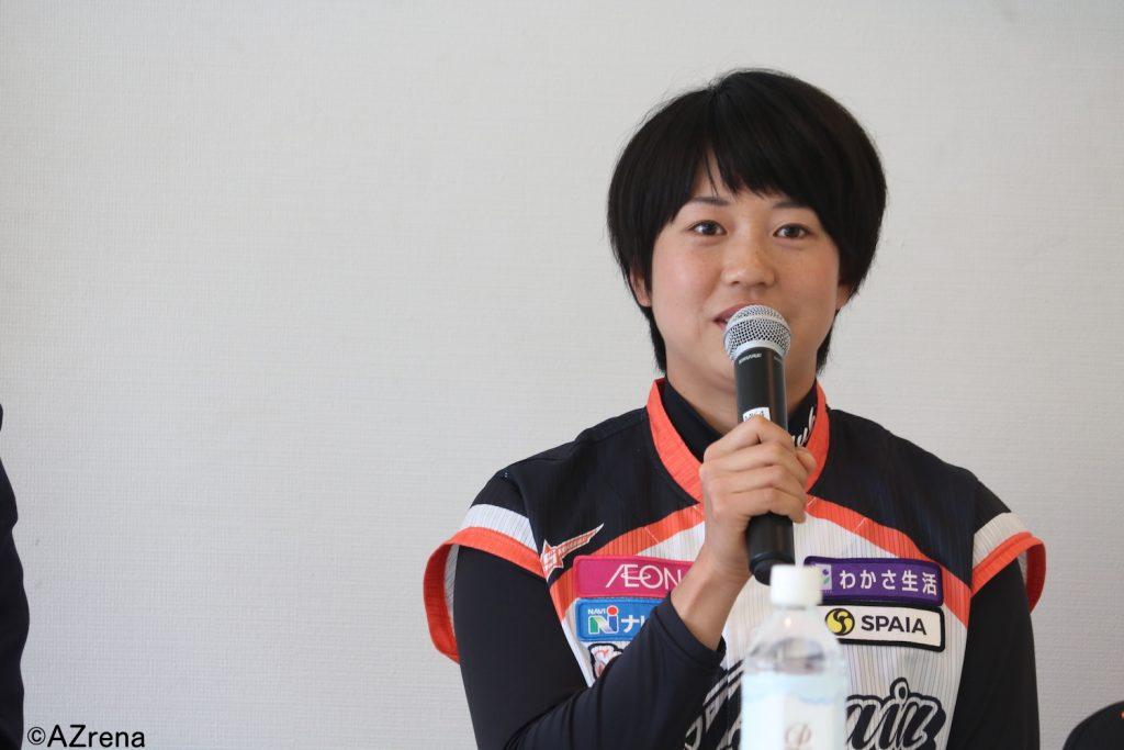 川端友紀選手