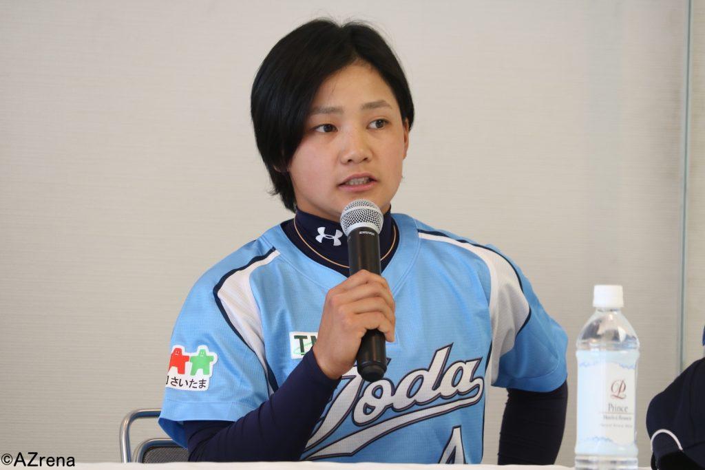 田中江理奈選手