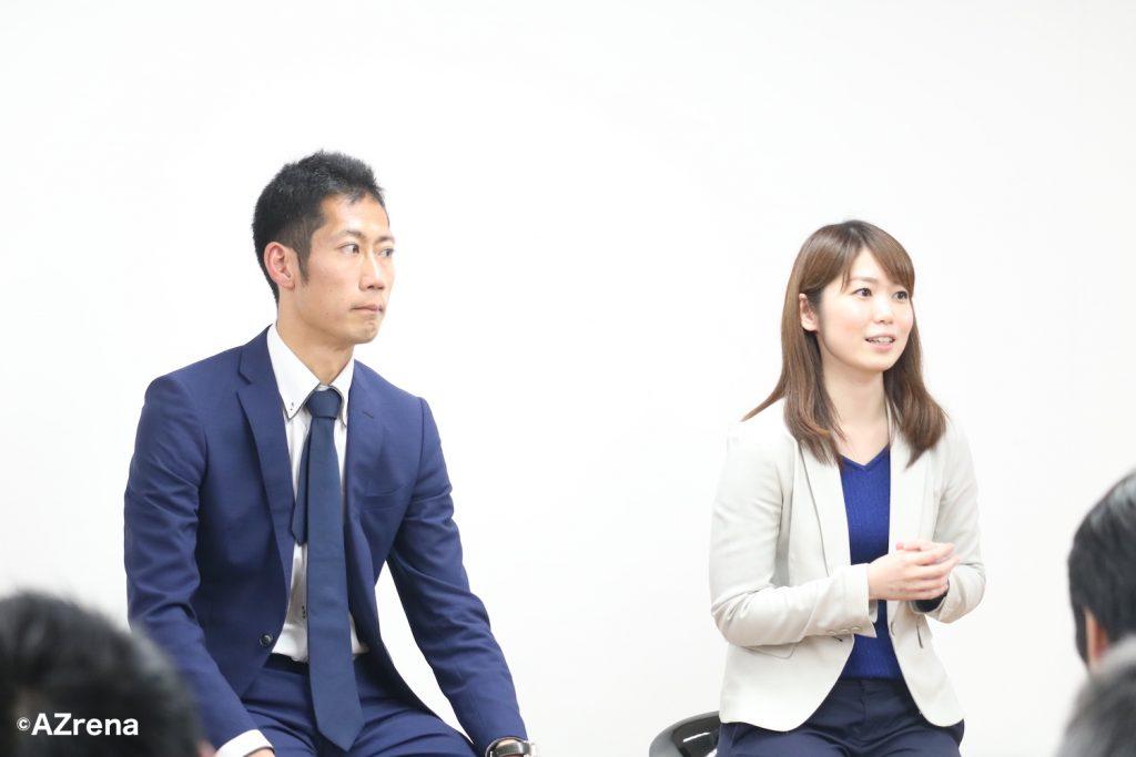 菊池康平さん、藤井頼子さん
