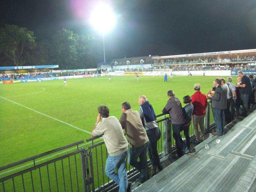 SVホルンのホームスタジアム