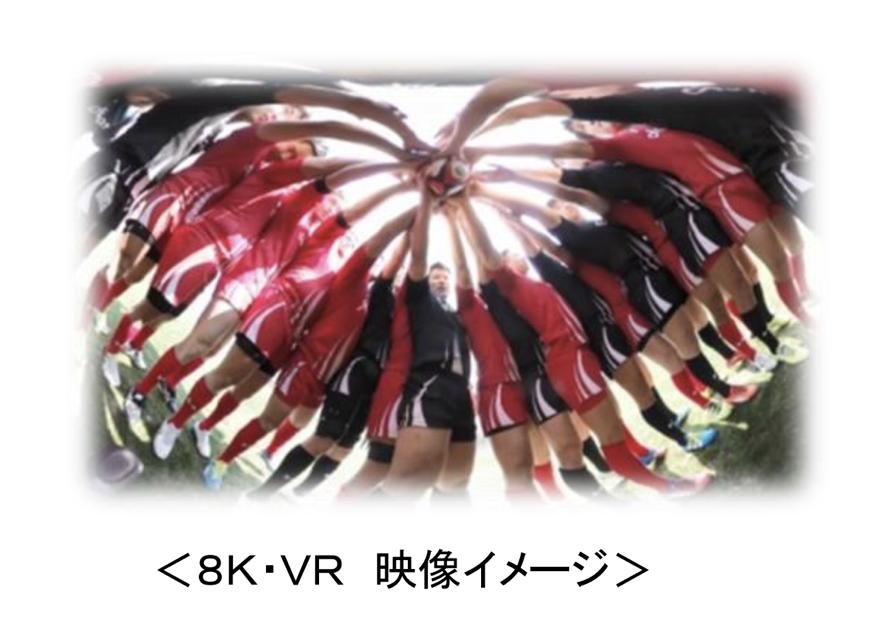 8K・VR 映像イメージ
