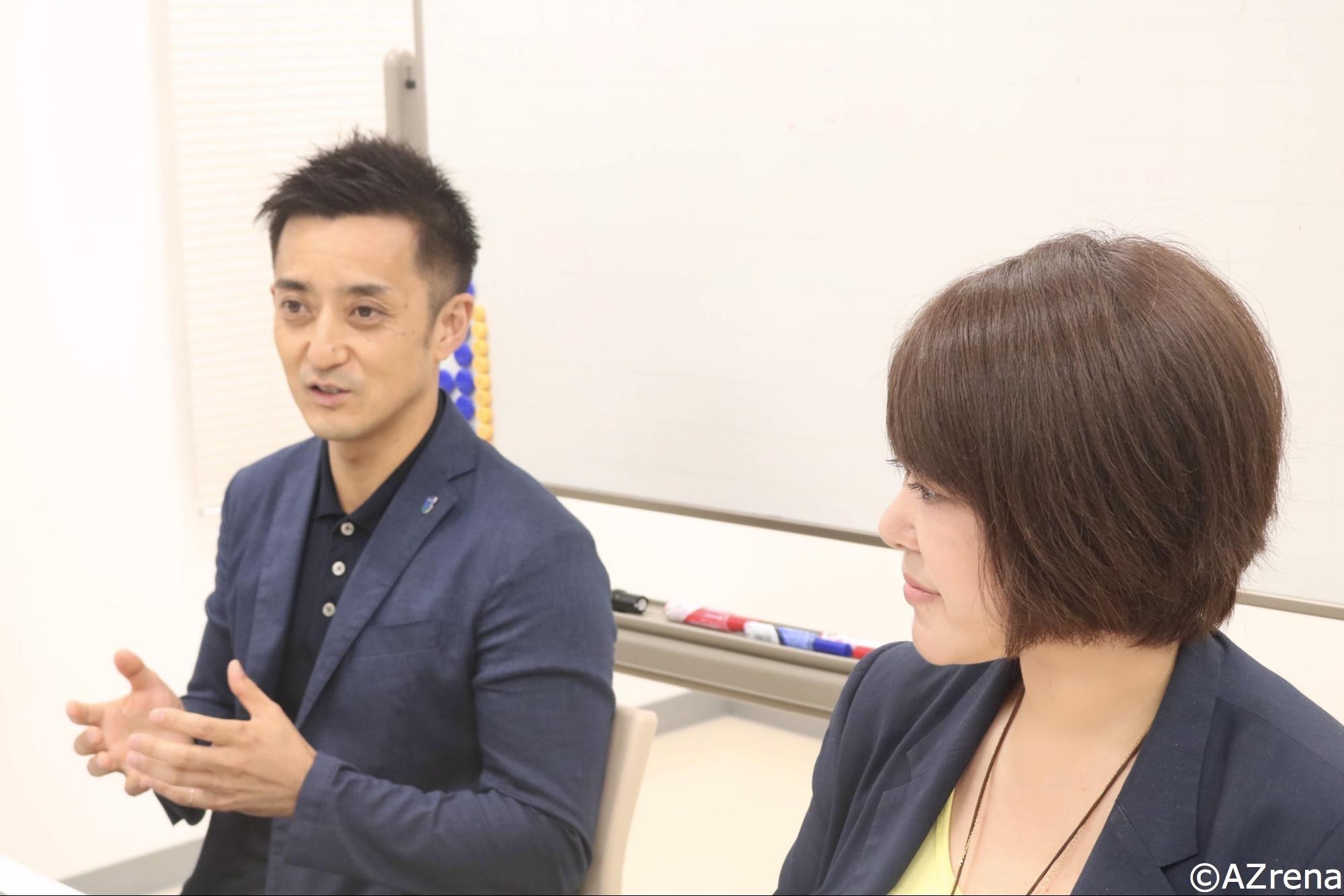橋本大輔氏、江藤美帆氏