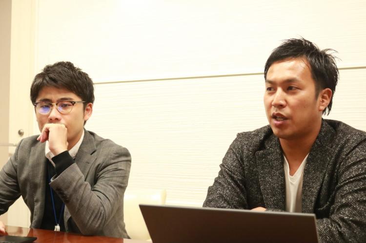 関谷秀氏と仲島修平氏