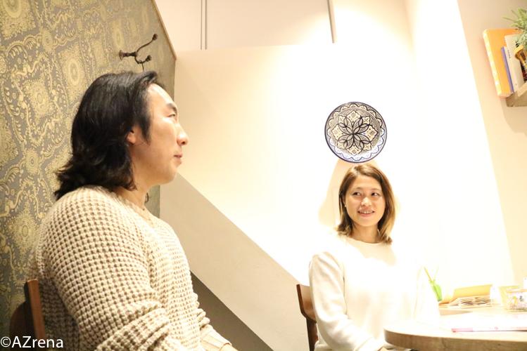 大山俊輔さんと吉林千景さん