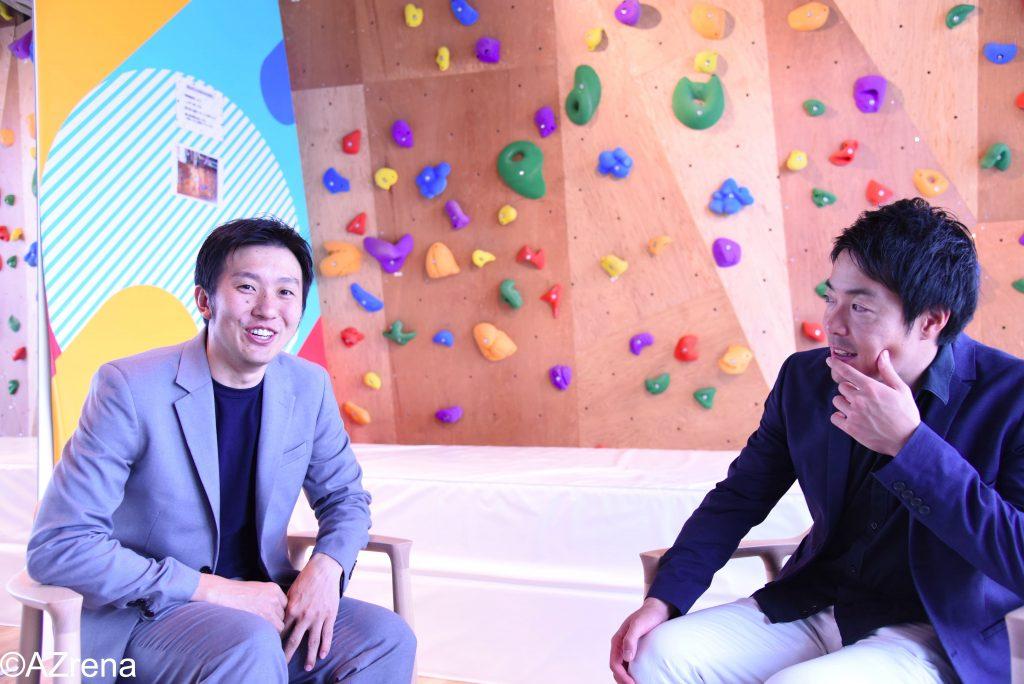 加藤幹典氏と遠藤幸一郎氏